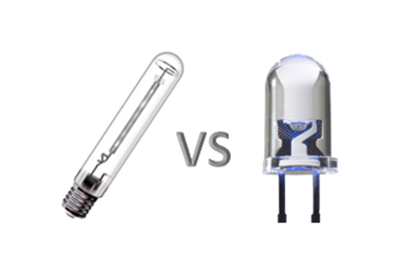Comparatif Hps vs Led