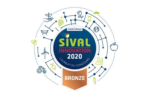 Logo Sival Innovation 2020 Médaille broze