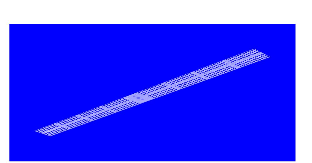 Lumière bleu luminaire led VGD