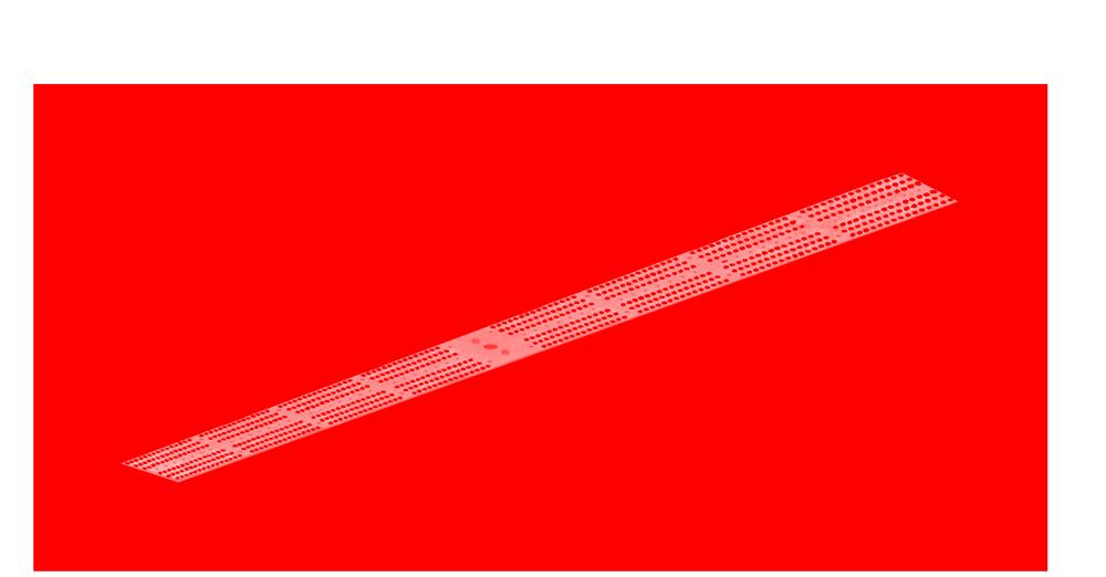 Lumière rouge luminaire led VGD