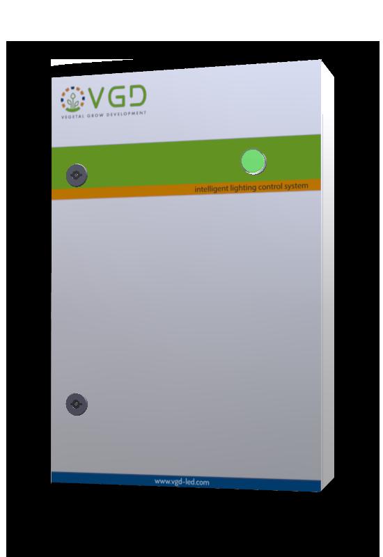 Boitier de pilotage VGD Box modele 3D