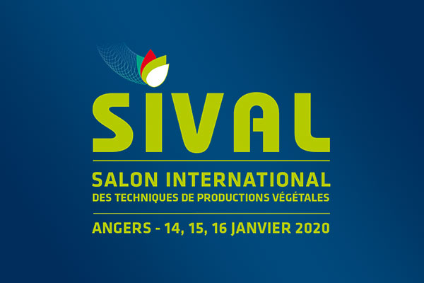 Sival salon international techniques de productions végétales angers 14 15 16 janvier 2020