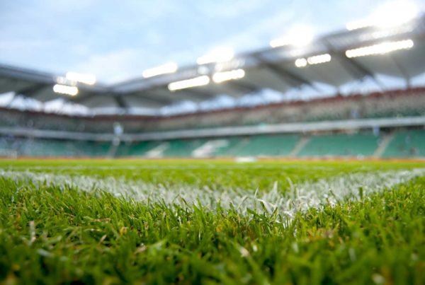 Eclairage led herbe terrain football