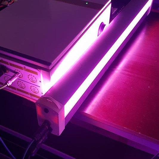 Luminaire led rose VGD boitier de pilotage
