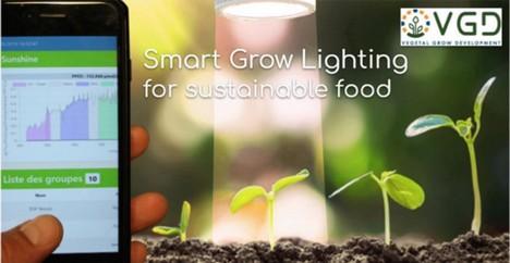 Smart grow lighting for sustainable food