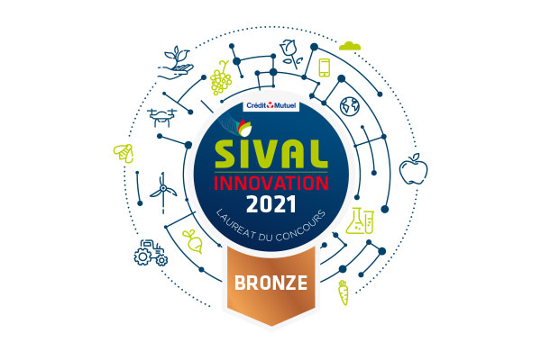 Sival Innovation 2021 Médaille bronze